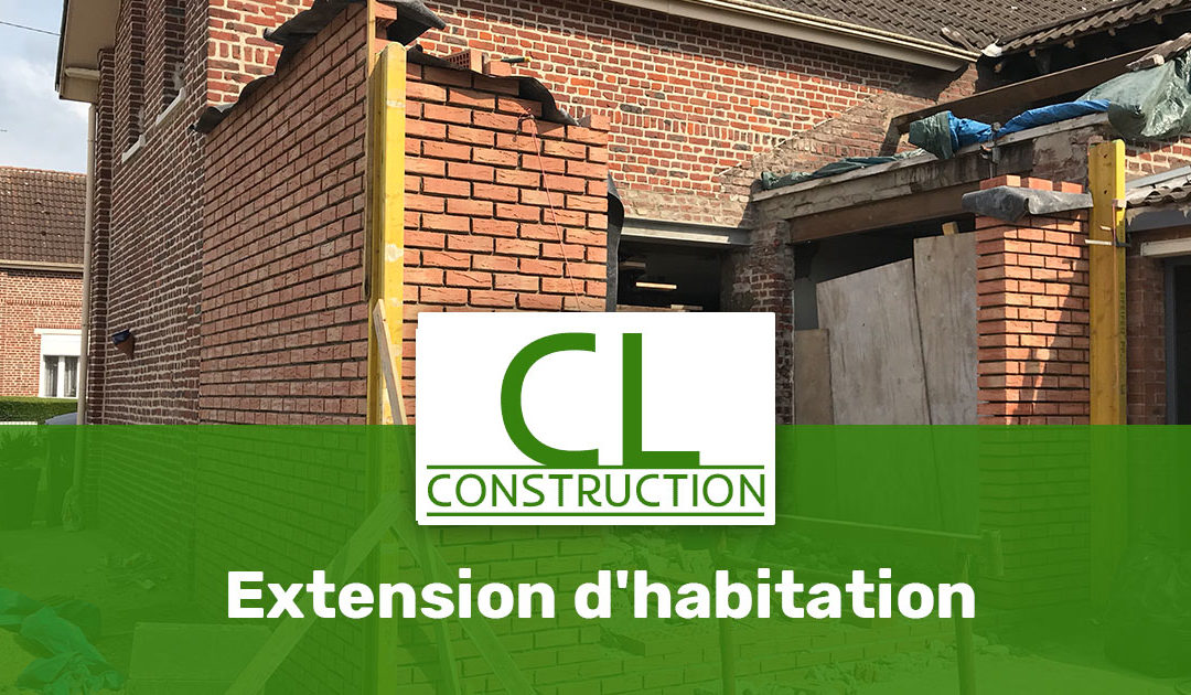 Extension d'habitation à Annequin