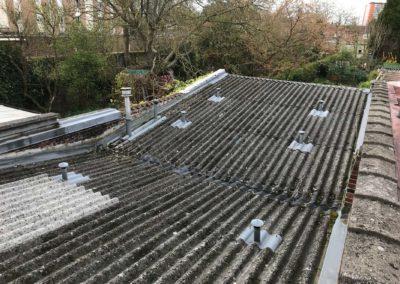 Changement toiture Amiante – St André – Lille
